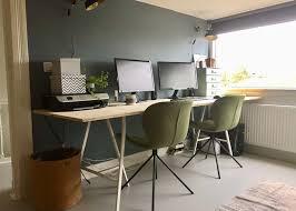 bureau diy werkplek metamorfose deel 1 diy bureau zuiver stoelen livelovehome