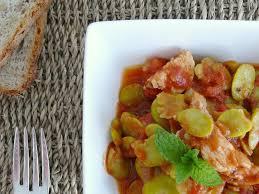comment cuisiner les feves surgel馥s émincé de dinde aux fèves à la menthe et à la coriandre bee made
