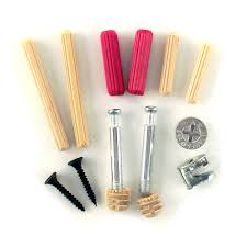 Kitchen Cabinet Fasteners Wood Fasteners Assortment Dowels Cam Locks Screws Hardware