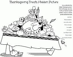 value thanksgiving food coloring pages table bourseauxkamas