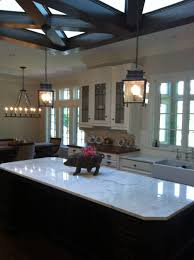 Kitchen With Two Islands Kitchen Hornbrook Kitchen With Hanging Copper Pendant Also