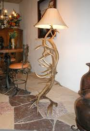 Antler Table Lamp Floor Lamp Natural Antler Lighting Rustic Decor