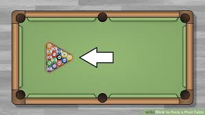 what is a billiard table how to rack a pool table 10 steps with pictures wikihow