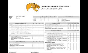 kindergarten progress report template standards based report cards teacherease samples