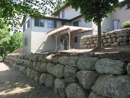 boulder walls for less boulder walls