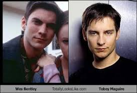 Meme Tobey Maguire - wes bentley totally looks like tobey maguire cheezburger funny