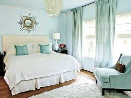 Modern Blue Bedrooms - blue bedroom curtains