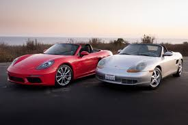 porsche boxster red porsche boxster 1997 2017 the difference 2 decades makes news