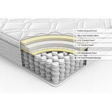 zinus 10 inch pillow top spring rv mattress short queen