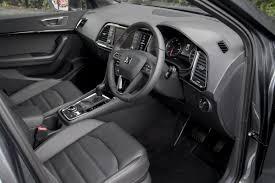 seat ateca interior seat ateca review and test drive tartan tarmac