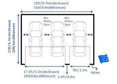 size of a 3 car garage garage shed two car detached dream doors stylish design standard