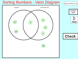 sorting and classifying mathsframe