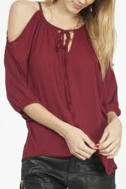 peekaboo blouse the door top peekaboo blouse from outer by the