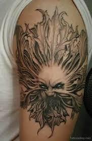 evil sun on half sleeve designs pictures