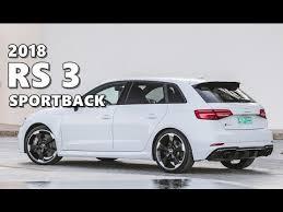 audi rs 3 2018 audi rs 3 sportback highlights