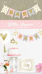 black and gold baby shower decorations black and white baby