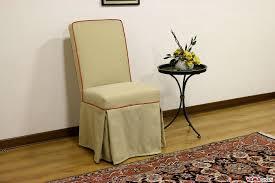sedie per sala da pranzo sedia imbottita vestita con gonna in tessuto sfoderabile