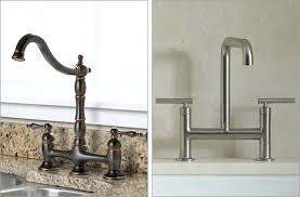 bridge faucets for kitchen bridge faucet kitchen elkar club