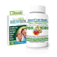 amazon com chewable oral probiotics dentist formulated 60 tablet