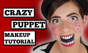 Crazy Puppet Makeup Tutorial Youtube