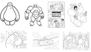 free big hero 6 coloring pages u0026 activities plus free computer