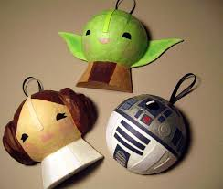 wars paper mache ornaments wars ornaments