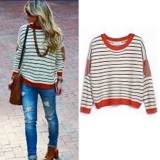 striped sweaters womens