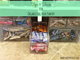 Organizing Your Pantry by Let U0027s Get Organized Pantry Edition Fancy Ashley