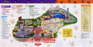 map of california adventure mickey s treat disney s california adventure october