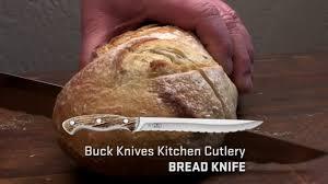 buck knives kitchen cutlery bread knife youtube