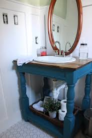 Painted Bathroom Furniture by Painting Master Bathroom Vanity With Chalk Paint All Things New