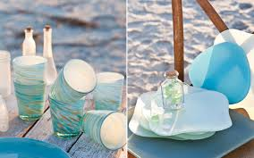 beach glass vase filler tablescapes inspired by the sea southern lady magazine