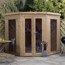Garden Summer Houses Corner - 7 x 7 waltons wooden corner summerhouse corner summer house