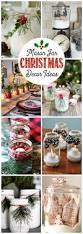 mason jar christmas decorating ideas mason jar christmas