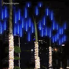 multi colored led christmas lights multi color 30cm meteor shower rain tubes ac100 240v led christmas