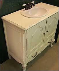 Low Profile Bathroom Vanity by Alexandria 60