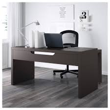 Roll Top Desks For Home Office by Malm Desk With Pull Out Panel Black Brown Ikea