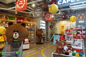 Line Store Brunch At Line Friends Cafe Itaewon Theheyheyhey