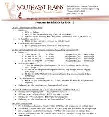 fee schedule template u2013 7 free templates schedule templates