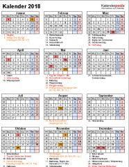 Kalender 2018 Hessen Ausdrucken Excel Kalender 2018 Chip