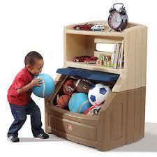 kids toy box bookcase plastic bedroom storage hide lift chest