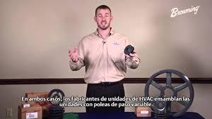 hvac variable pitch sheaves spanish subtitles youtube