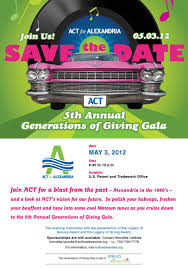 lindsay lexus of alexandria is act u0027s 5th annual generations of giving gala may 3rd act for