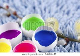 decorated egg shells easter decoration egg shells filled image photo bigstock