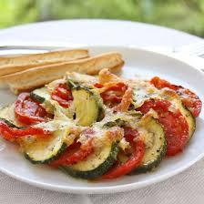 comment cuisiner les courgettes au four gratin de tomate courgette oignon cuisine az