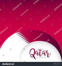 qatar national day backgroundqatar national day stock vector