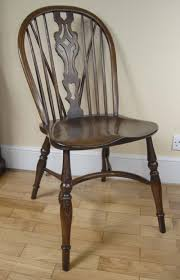 Kitchen Chairs Pair Windsor Chairs Farmhouse Oak Kitchen Chair Ebay