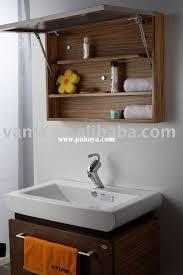 Wooden Bathroom Wall Cabinets Pretty Custom Bathroom Wall Cabinets Cherry Cabinet On Narrow Bath
