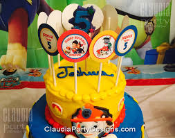 Paw Patrol Cupcake Toppers Paw Patrol Birthday Claudia Party