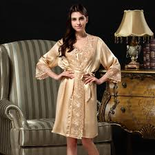 Nightgowns For Brides How To Make Bathrobe Replacement Belts Panda Silk